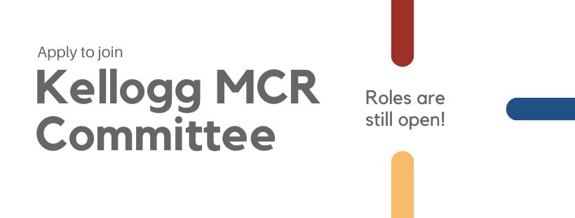 MCR Committee Roles – Closed